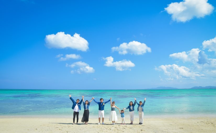 【お客様レポ#3】Y&M様は川平タバガービーチでご家族とフォトウェディング