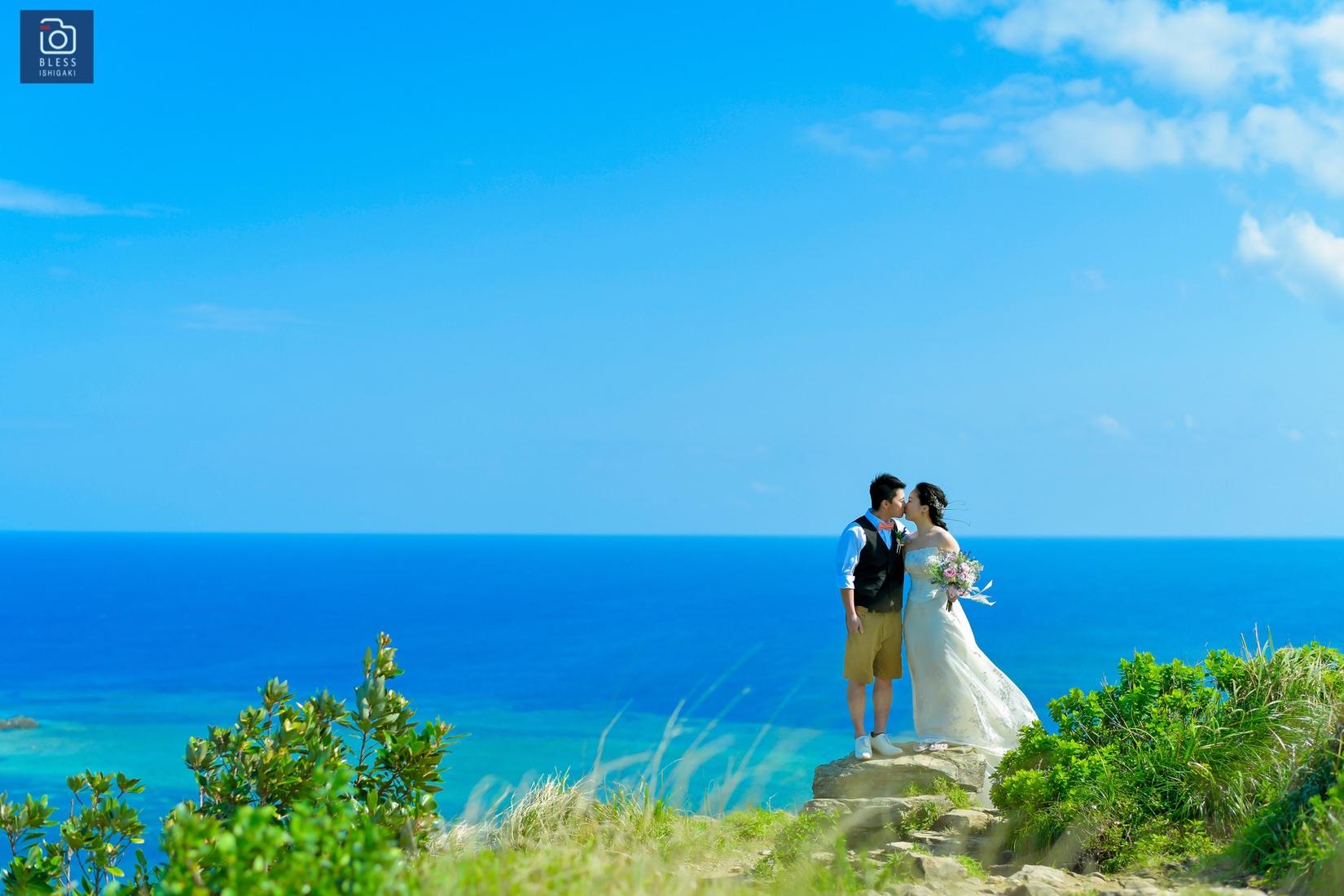 【お客様レポ#5】平久保崎灯台やサトウキビ畑で撮影♡Y&M様の石垣北部ツアー