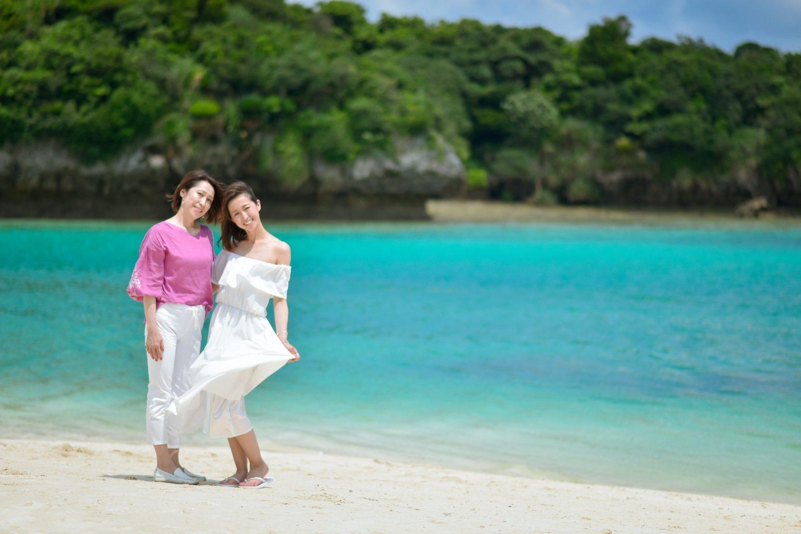【レポ#14】M&M様は快晴の川平湾で家族フォト♡