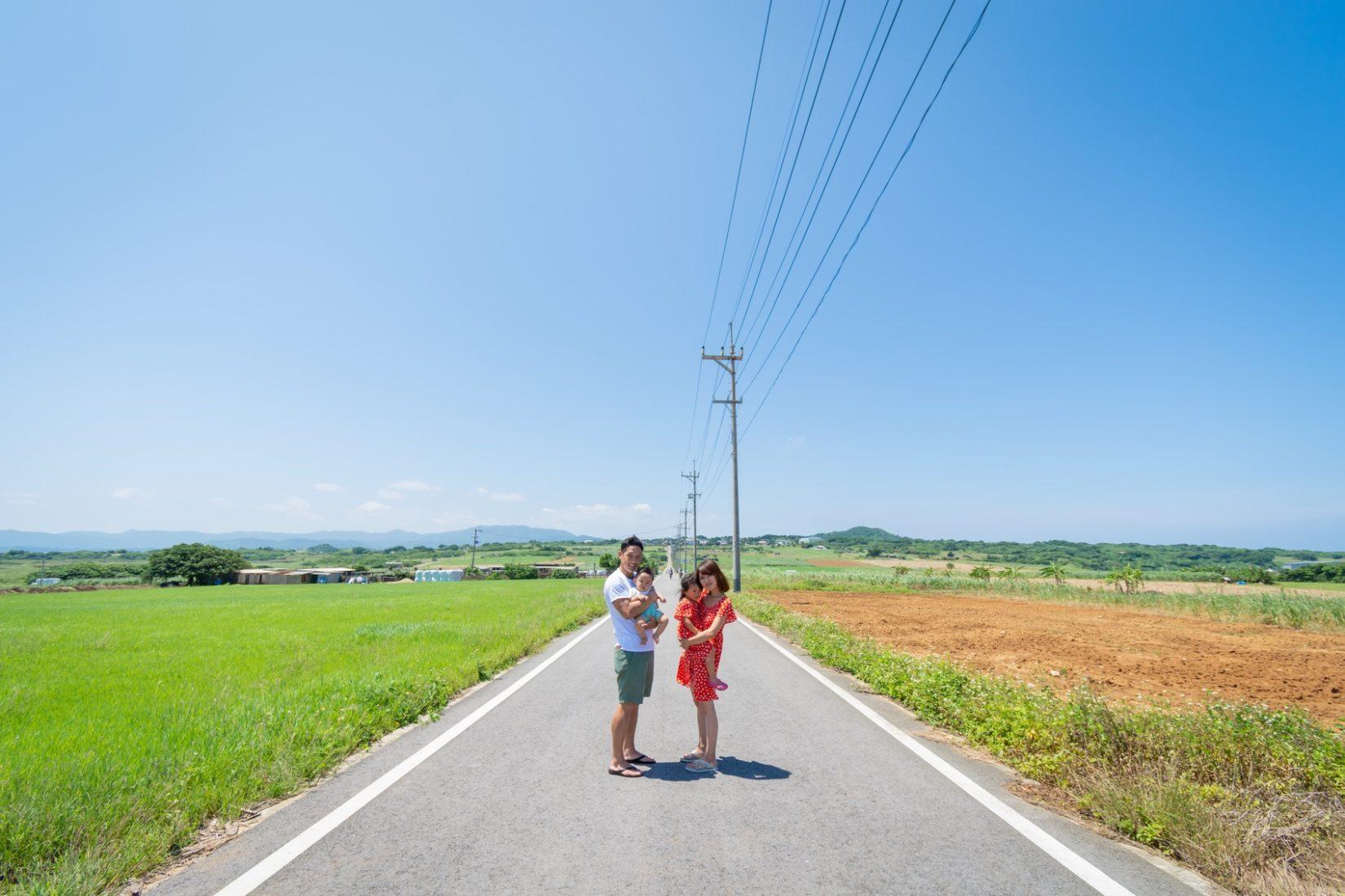 【レポ#17】「ちゅらさん」で有名な小浜島で家族写真!