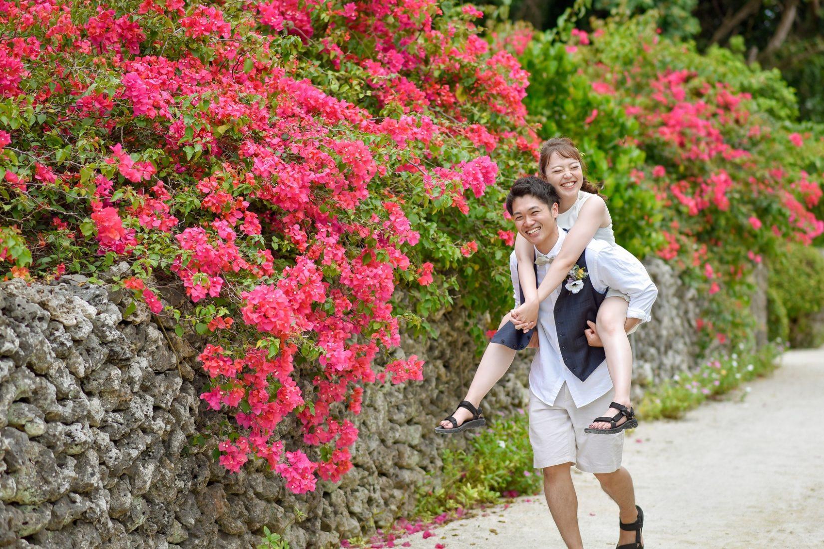 【レポ#19】笑顔が可愛い♡K様&M様と竹富島フォトツアー