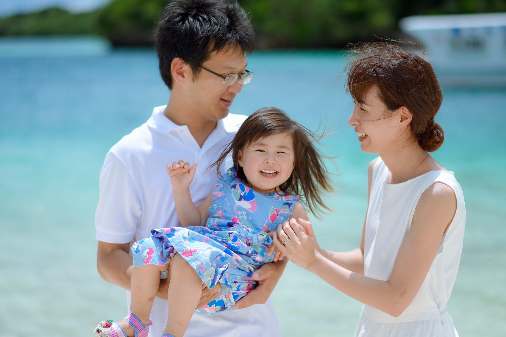 石垣で家族旅行