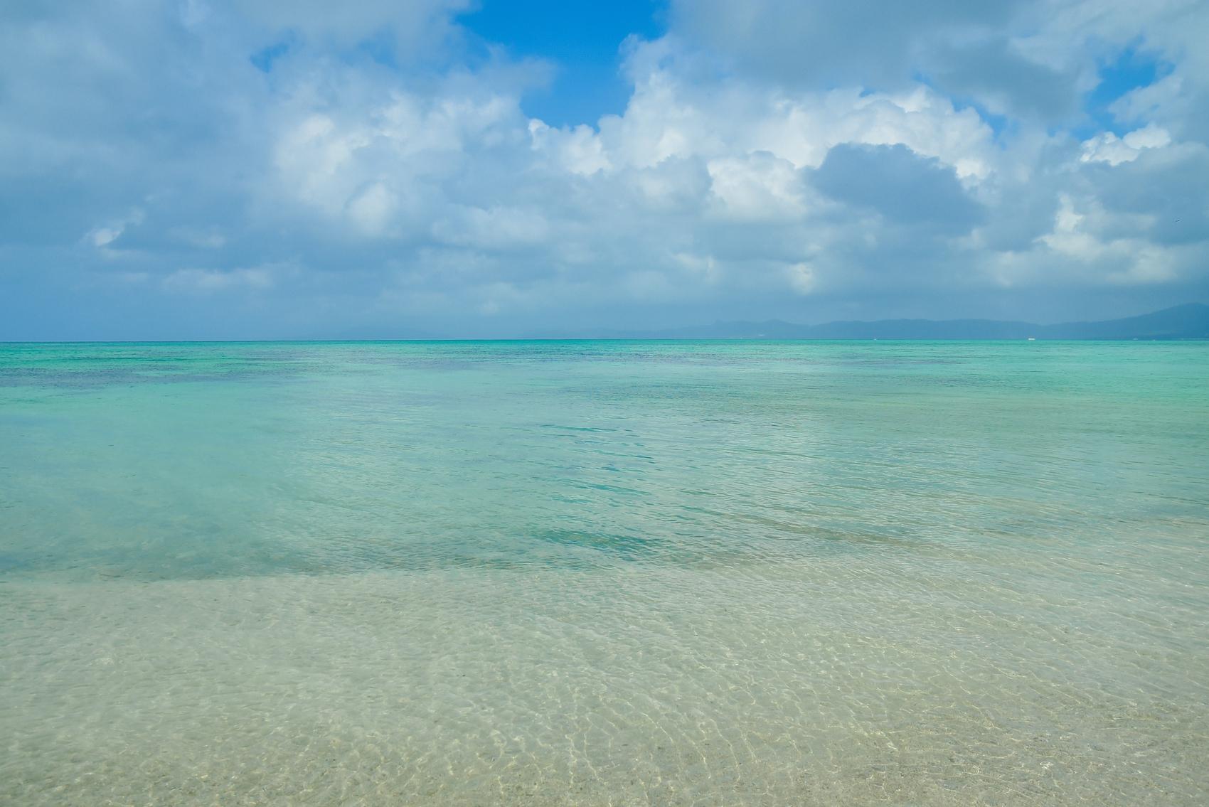 川平タバガーの海