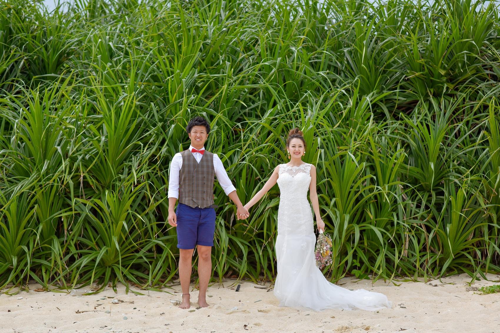 石垣島崎枝のビーチ