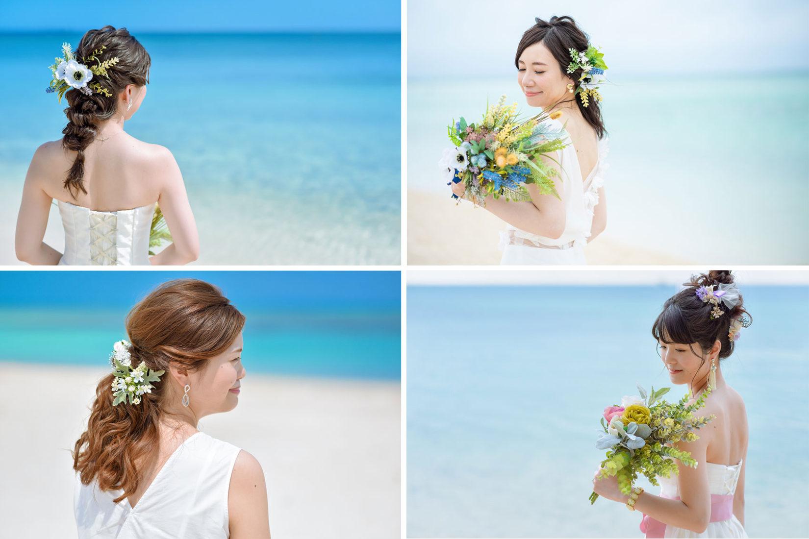 【2019最新版】沖縄で前撮り!花嫁さんのヘアスタイル例まとめ♡