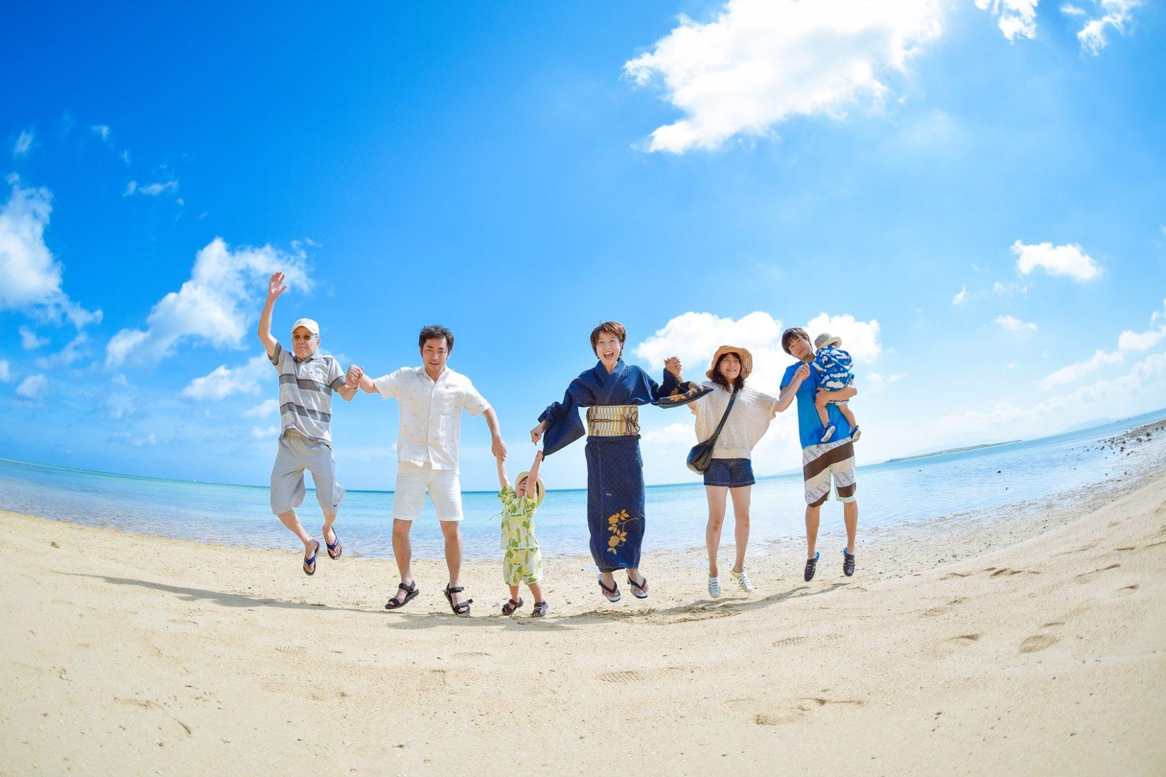 【レポ#36】小浜島のビーチやさとうきび畑で撮影!A様ファミリーの家族フォト