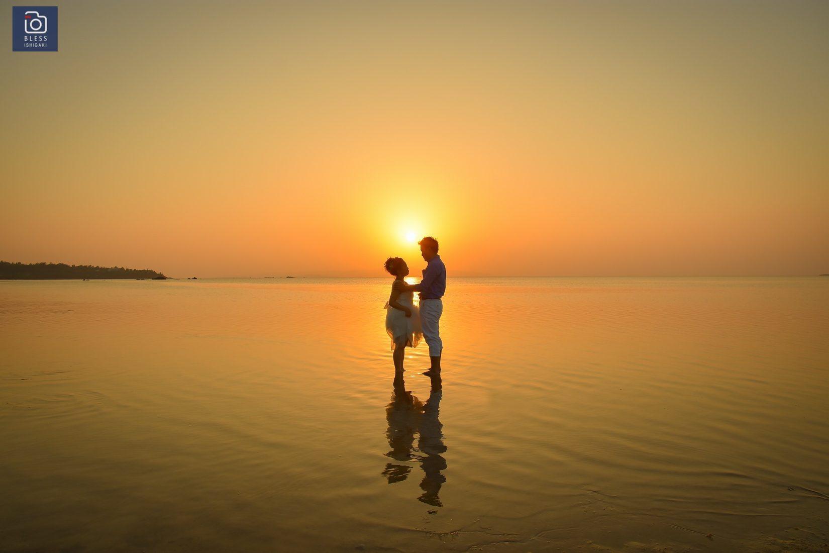 【お客様レポ#4】Y&N様のビーチフォト@川平タバガー&サンセットビーチ