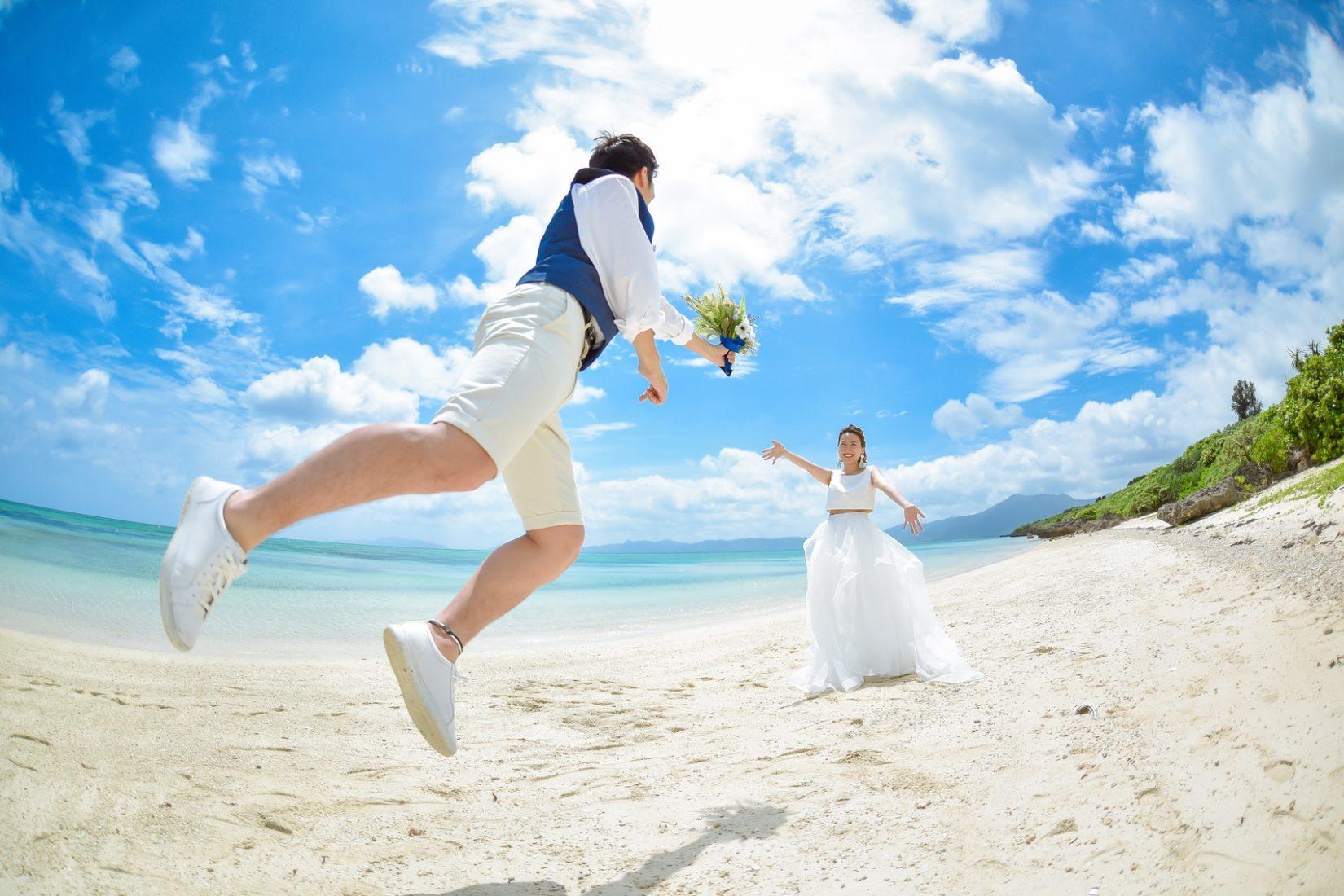 【レポ#31】セパレートドレスにタッセルピアスが可愛い♡ K様&F様の結婚写真