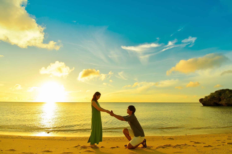 石垣島旅行でプロポーズ