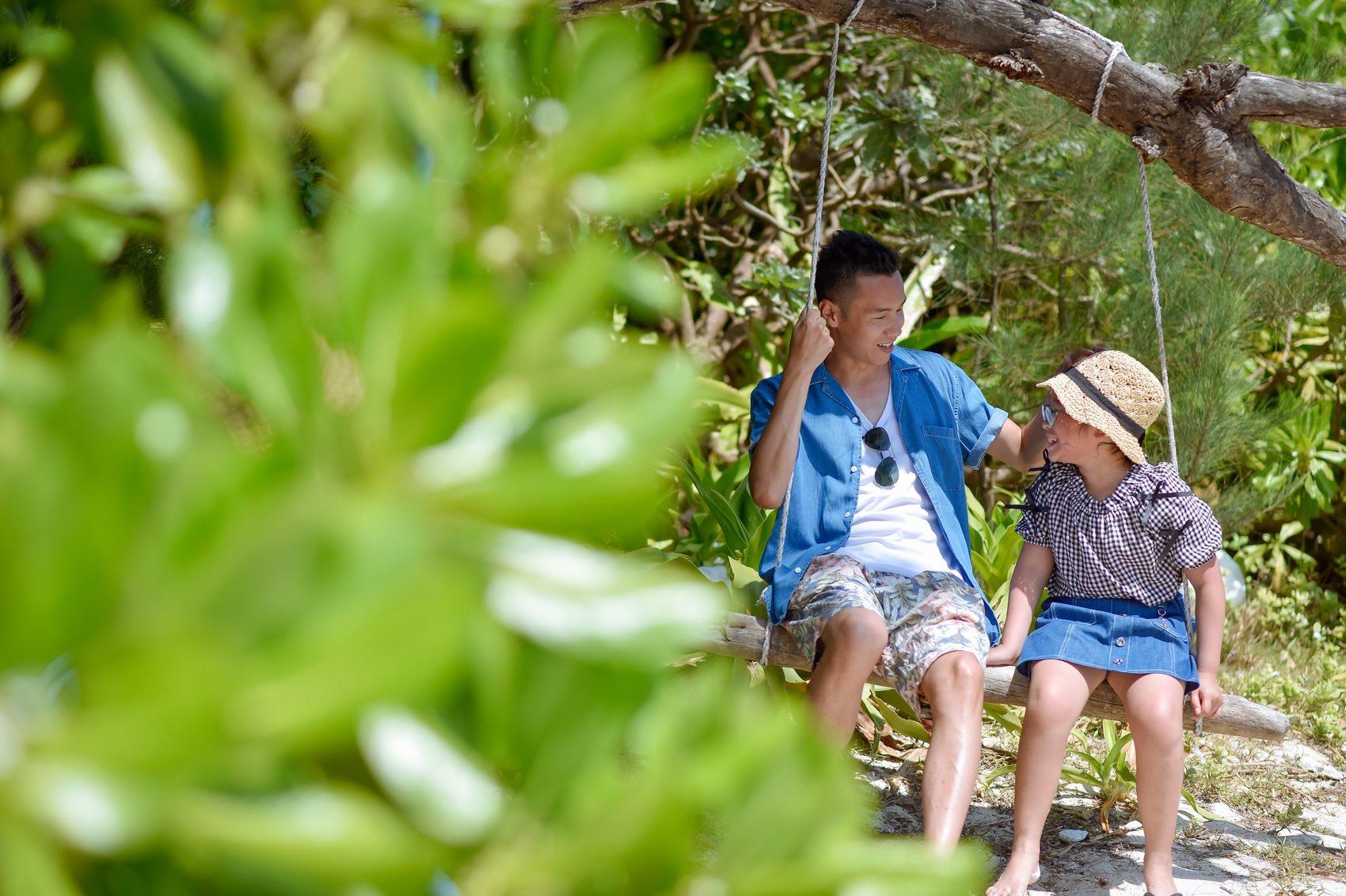 石垣島のブランコ