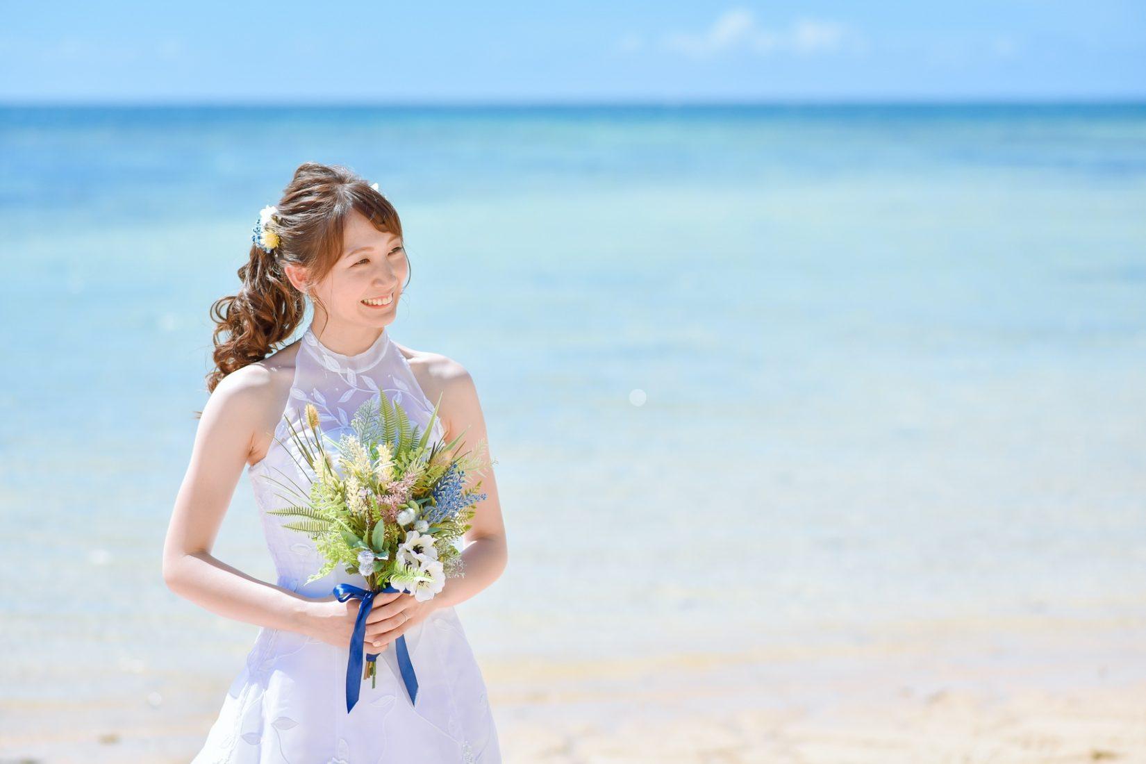 【2020年1月版】沖縄で前撮り!花嫁さんのヘアスタイルまとめ♡