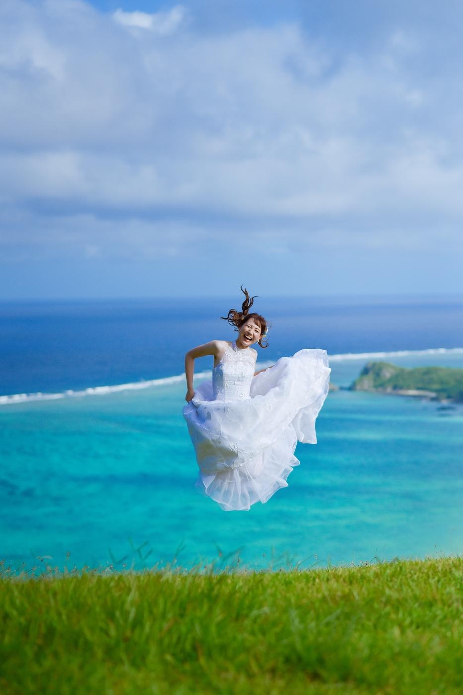 花嫁ジャンプ!