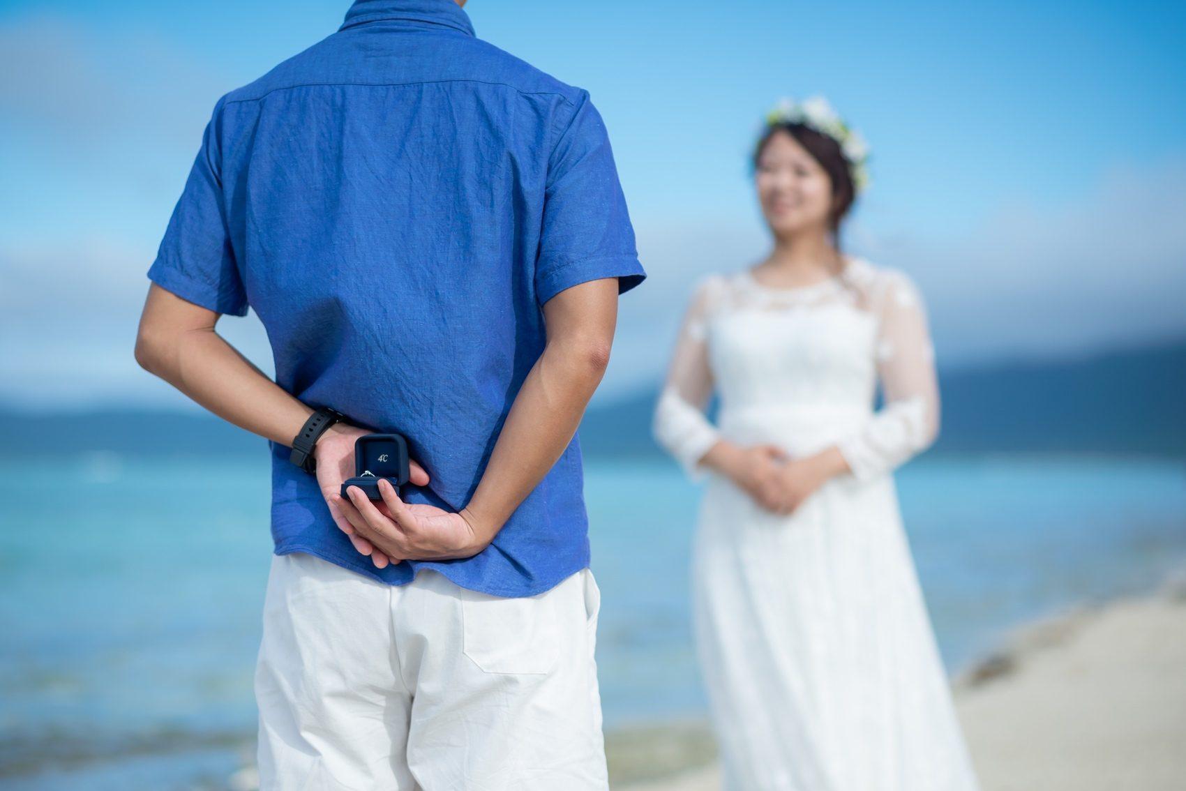 プロポーズの直前