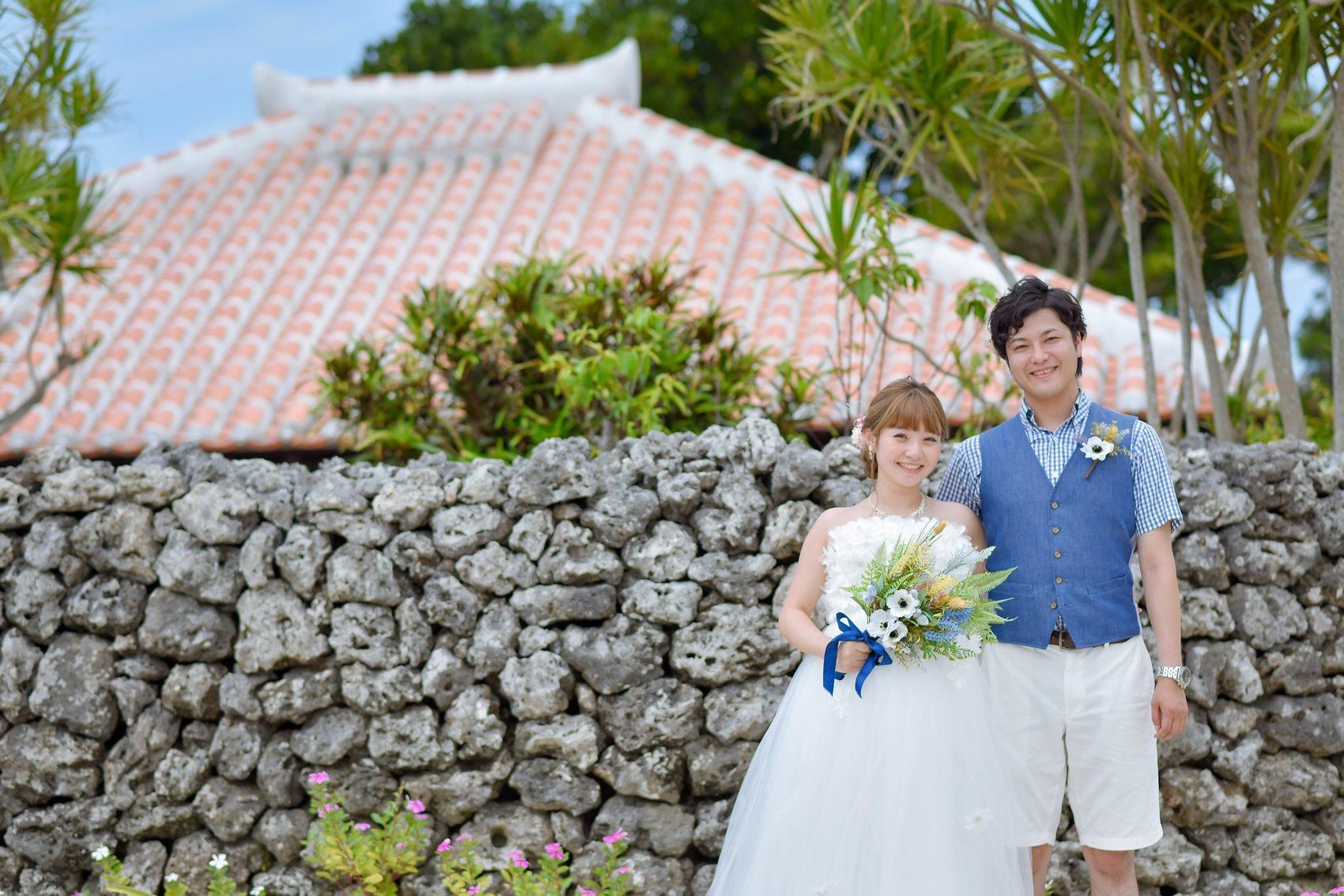 竹富島の石壁