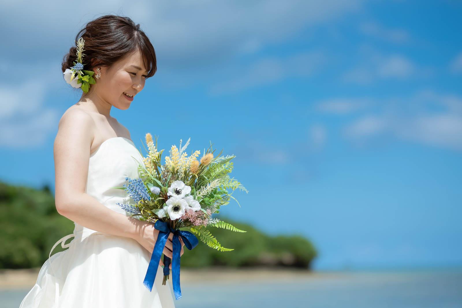 花嫁様のヘアスタイル