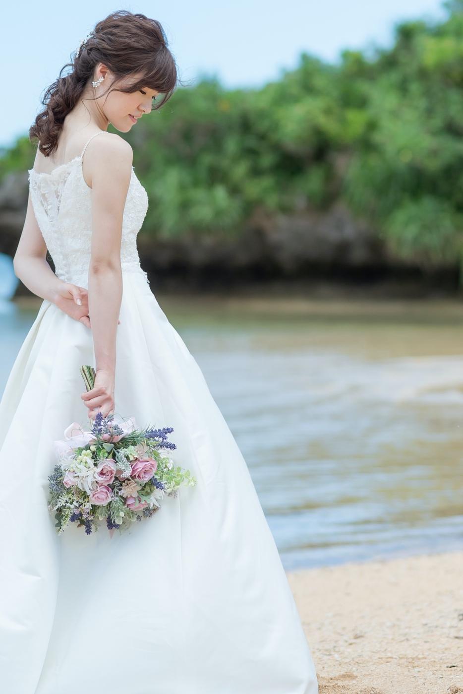 花嫁さまのヘアスタイル