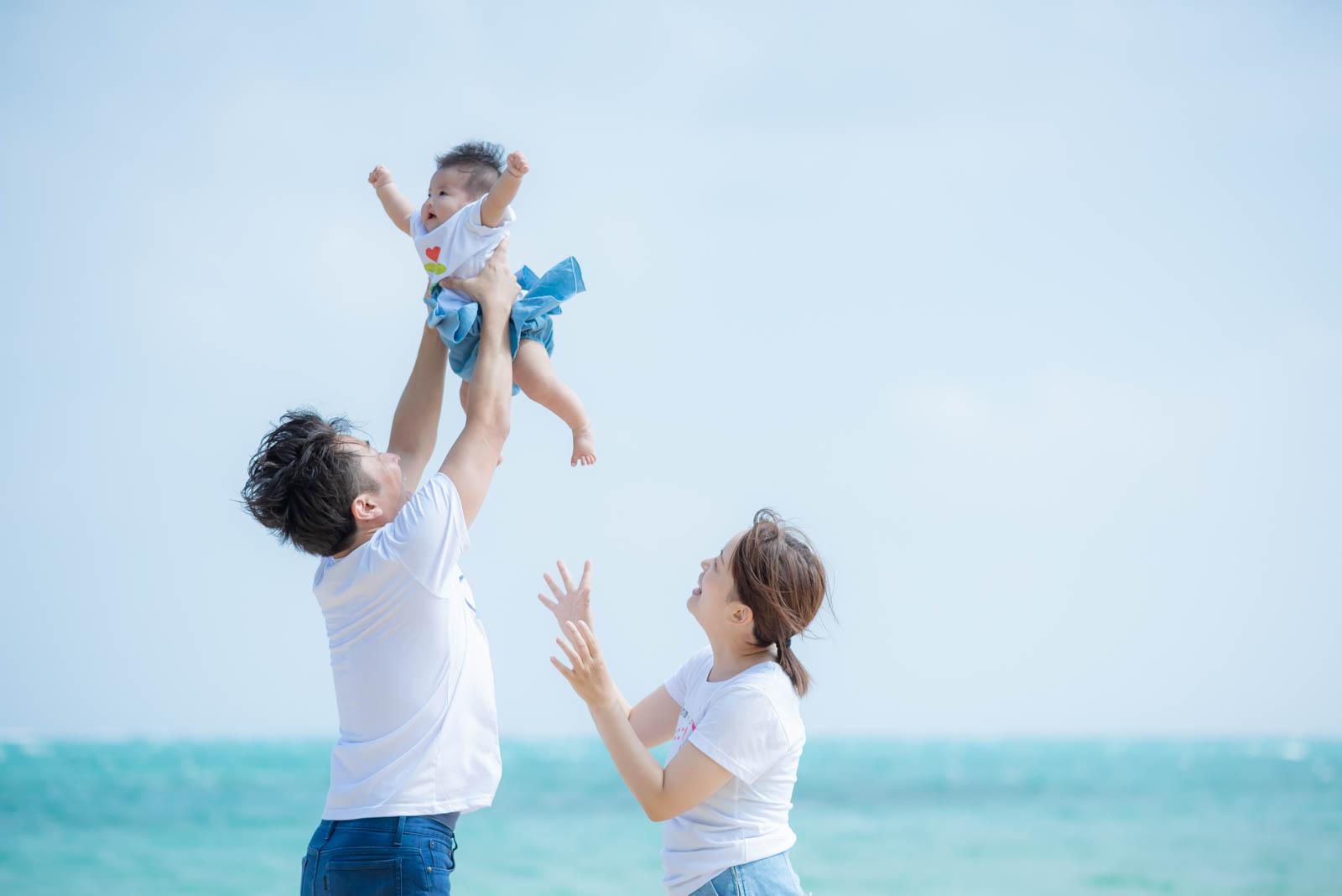 #51 小浜島で撮影!5ヶ月の赤ちゃんと家族旅行の思い出に*