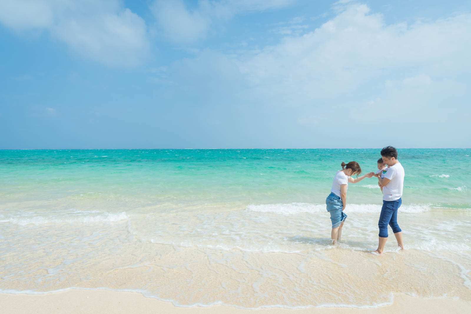 beach at Kohama island