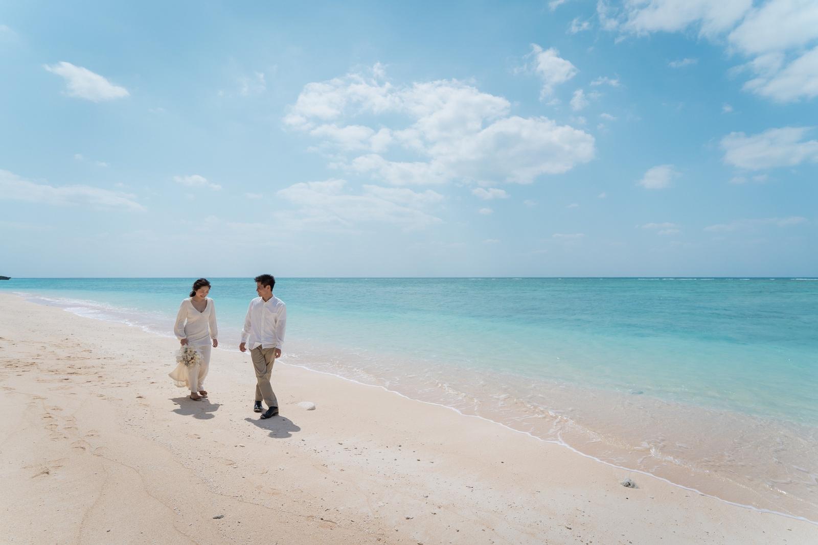ペー浜の海