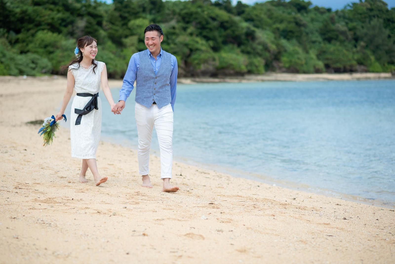 石垣島の崎枝のビーチ