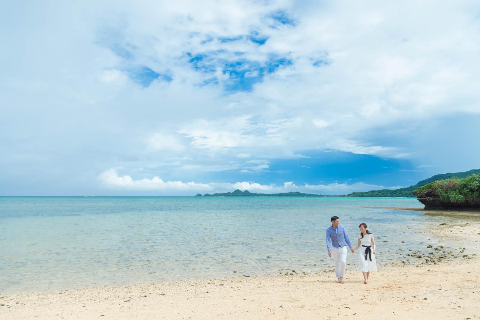 石垣島でビーチフォト