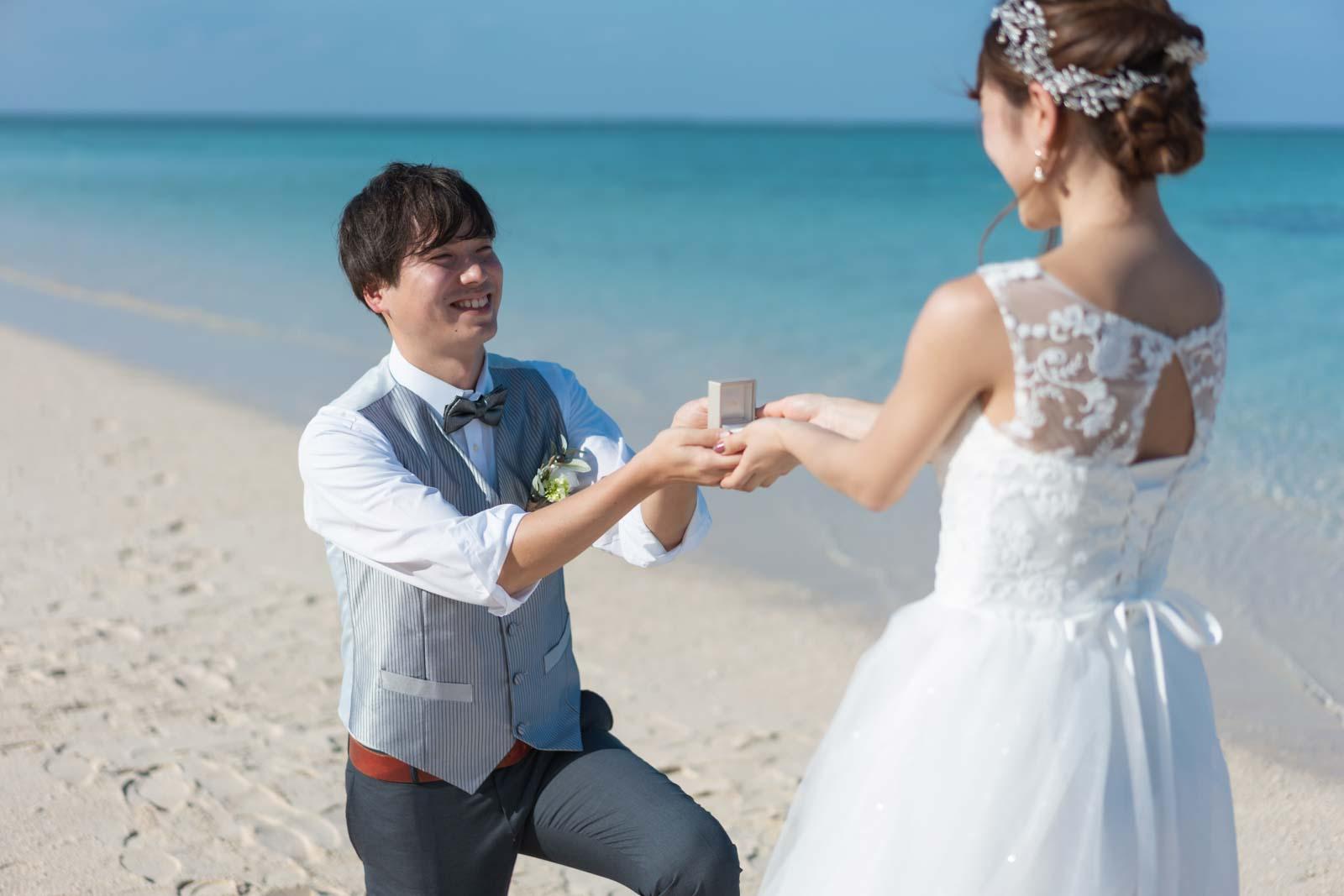 サプライズでプロポーズ