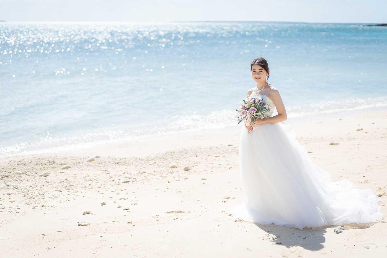 花嫁様のふわふわドレス