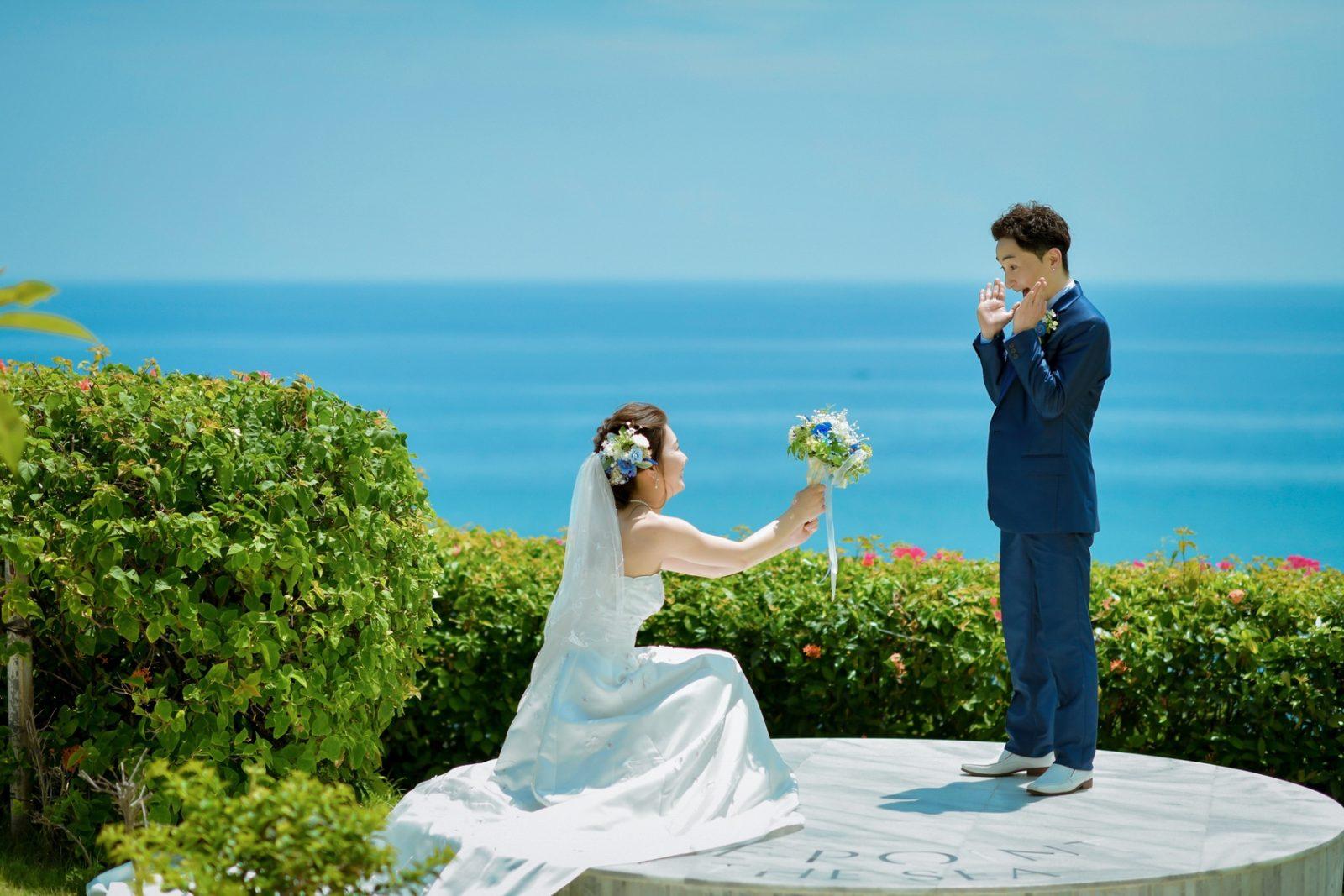 花嫁がプロポーズ