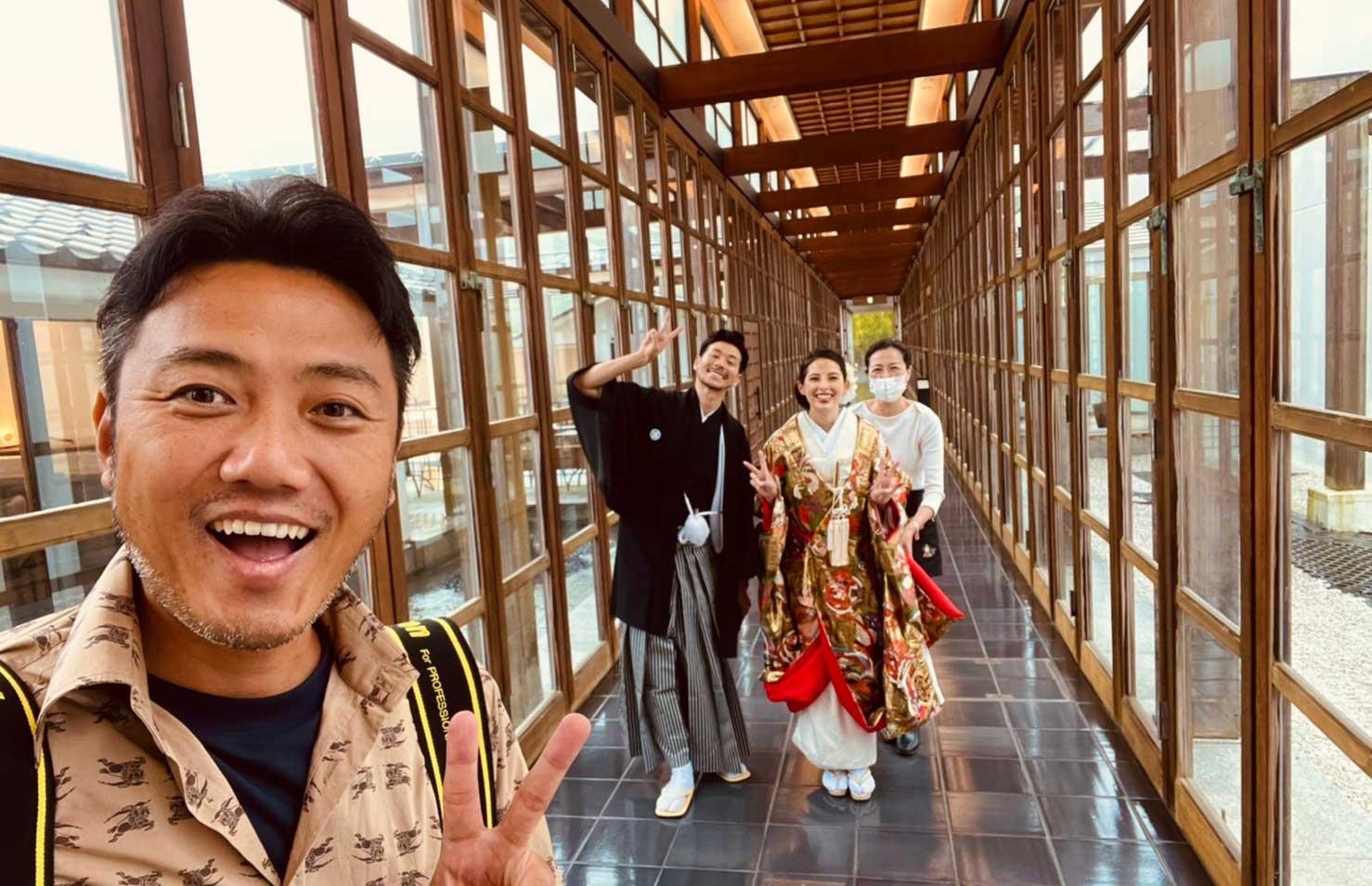 石垣島から箱根に出張撮影!ウェディングフォトのサンプル写真を撮りました